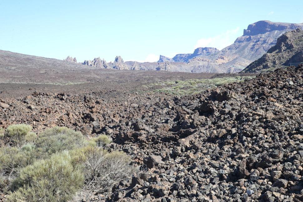Las Canadas del Teide.