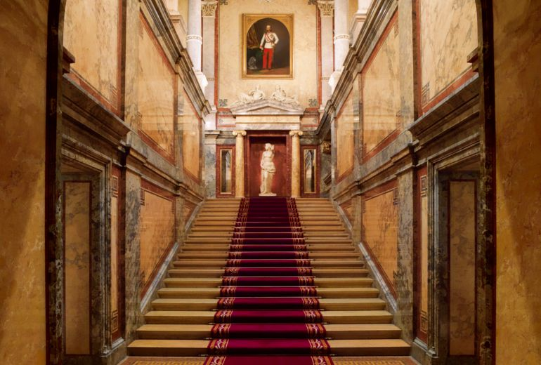 L'escalier royal