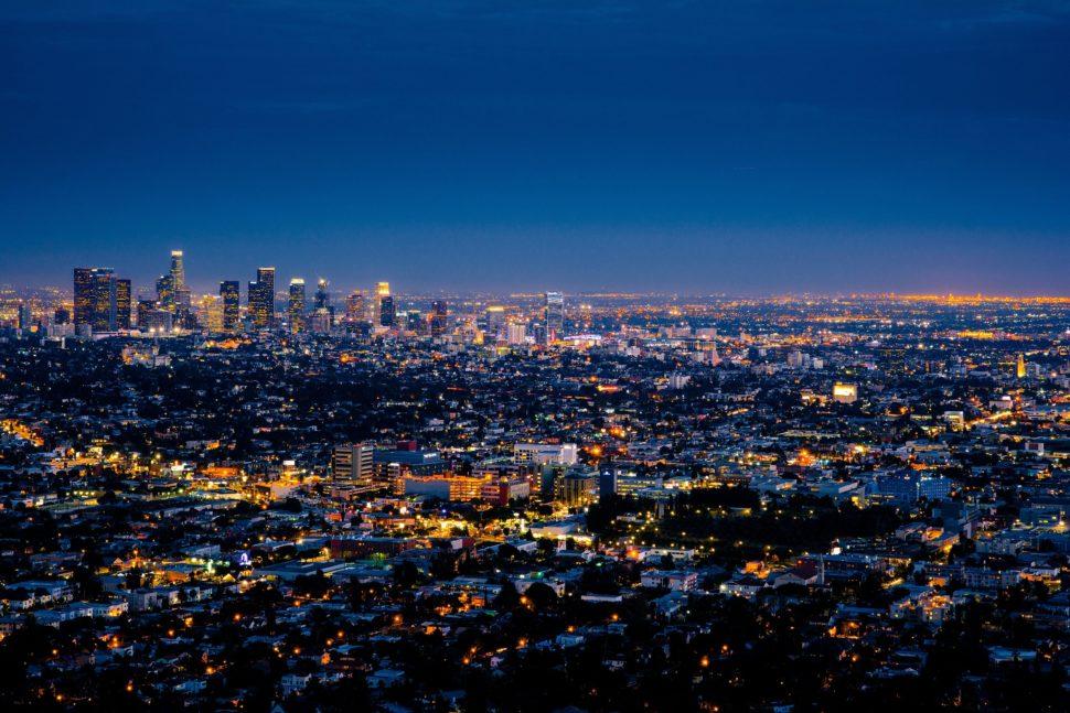 Deuxième réveillon à Los Angeles en temps réel.