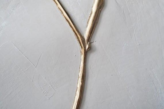 Poésie blanche (kintsugi ou jointure en or)