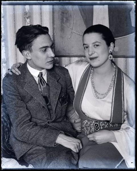 Raymond Radiguet avec Marcelle-Meyer