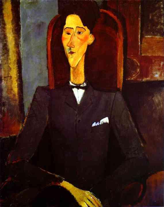 Jean Cocteau (1889-1963) par Modigliani