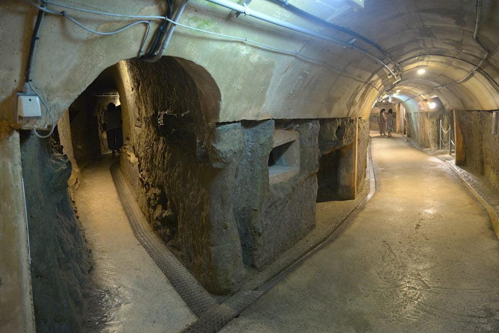 QG souterrain de la Marine Japonaise à Okinawa
