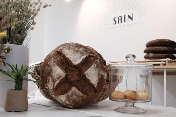 La miche, l'un des bestsellers de pain de la Boulangerie Sain