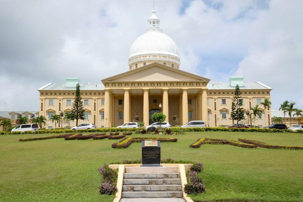 Le parlement à Palau Ngerulmud.