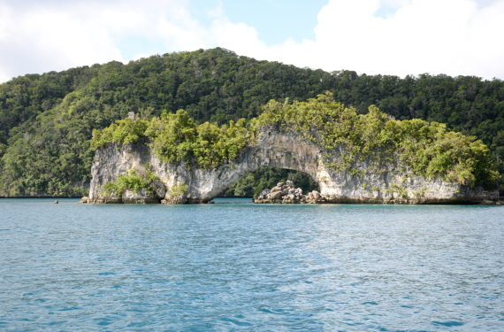 Palau Rock Islands.