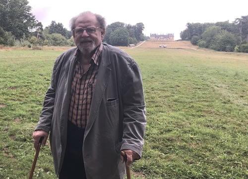 Paul de la Panouse, fondateur du ZooSafari de Thoiry
