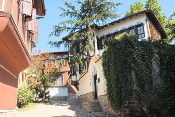 La vieille ville de Plovdiv