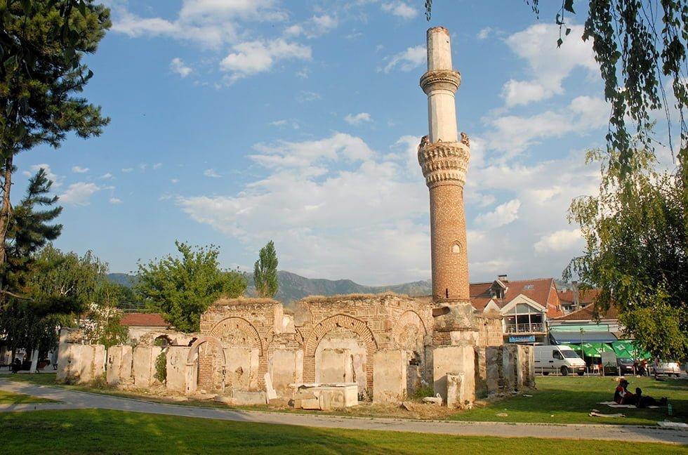 Ancienne mosquée en centre ville à Prilep.