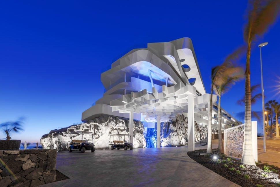 L'entrée principale du Royal Hideaway Corales Resort.