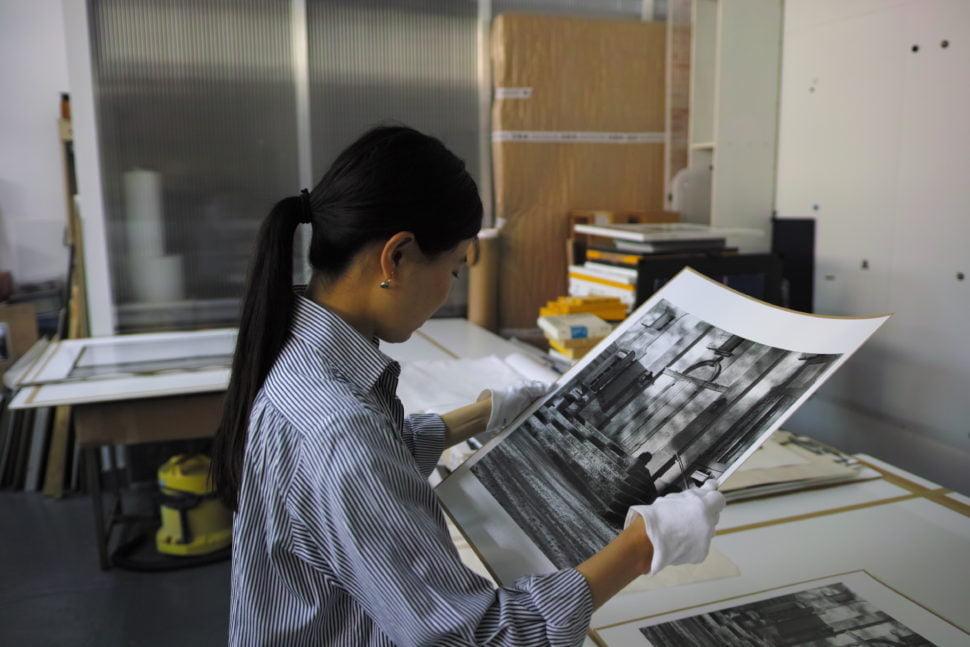 La photographe japonaise Rieko Tamura