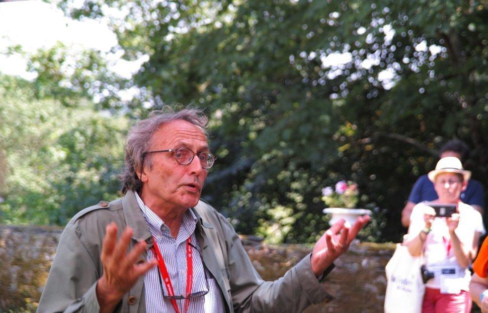 Nicolas Joly, vigneron propriétaire de la Coulée de Serrant (Anjou noir), vignoble et appellation contrôlée de 7 hectares, hôte de la 8e Paulée d'Anjou