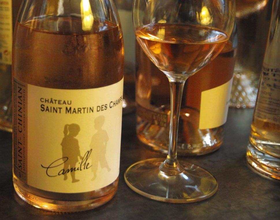 La cuvée Camille, de Saint Martin des Champs, mis en bouteille avec un minimum de sulfite