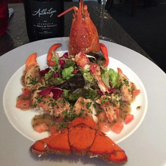 Salade de homard au Petit Pergolèse