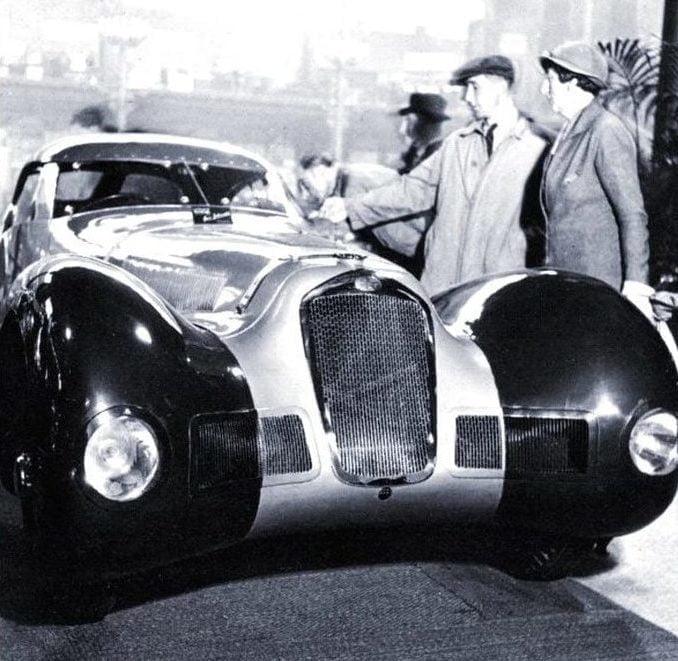 Delage au salon de Paris 1937