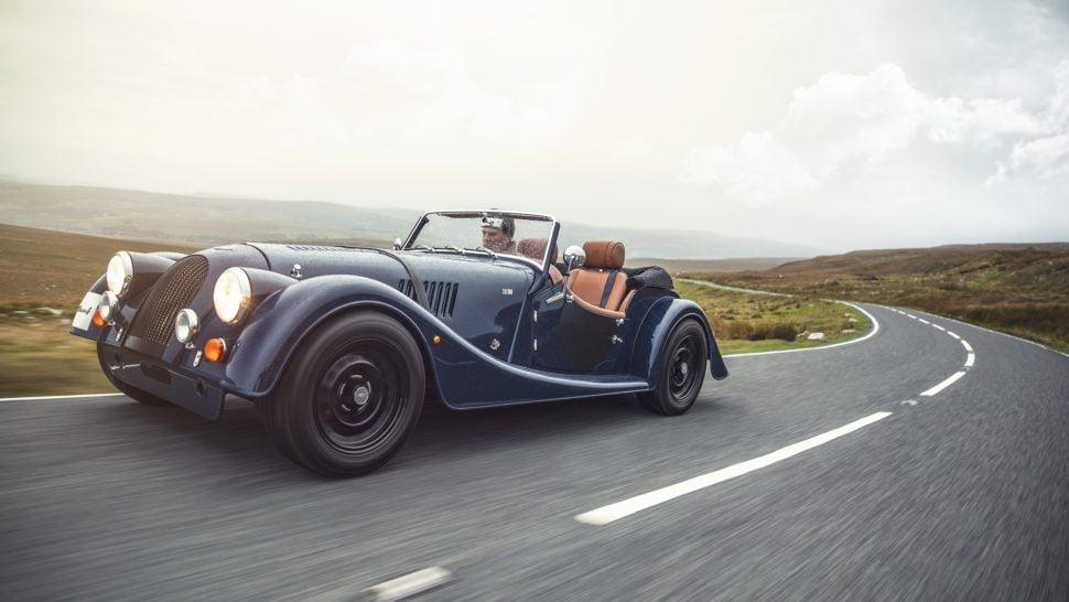 La série spéciale Morgan Plus 4, sortie pour le 110ème Anniversaire de la marque anglaise.