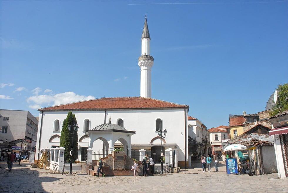 Le Quartier ottoman de Skopje.