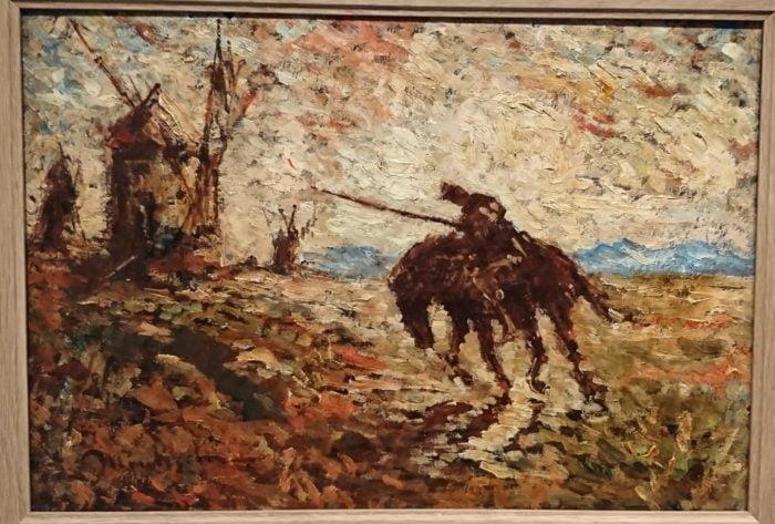 Adolphe Monticelli. Don Quichotte