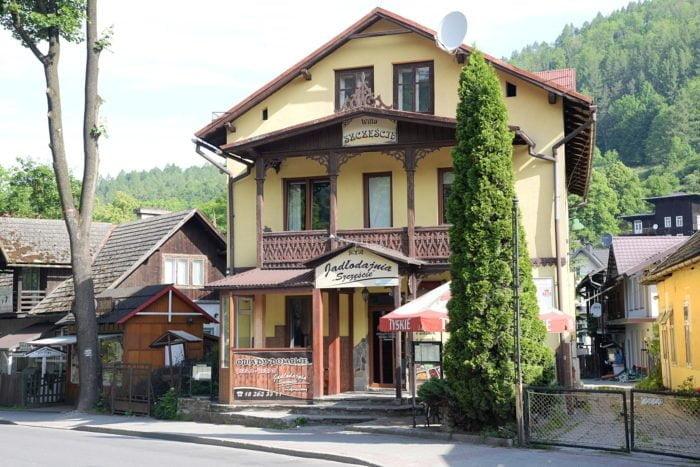Szczawnica Villa du XIX e siecle.