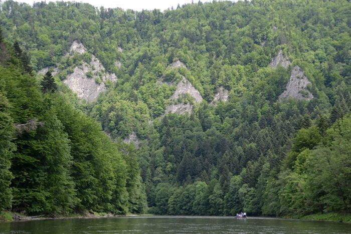 Szczawnica, Gorges de la Dunajec.