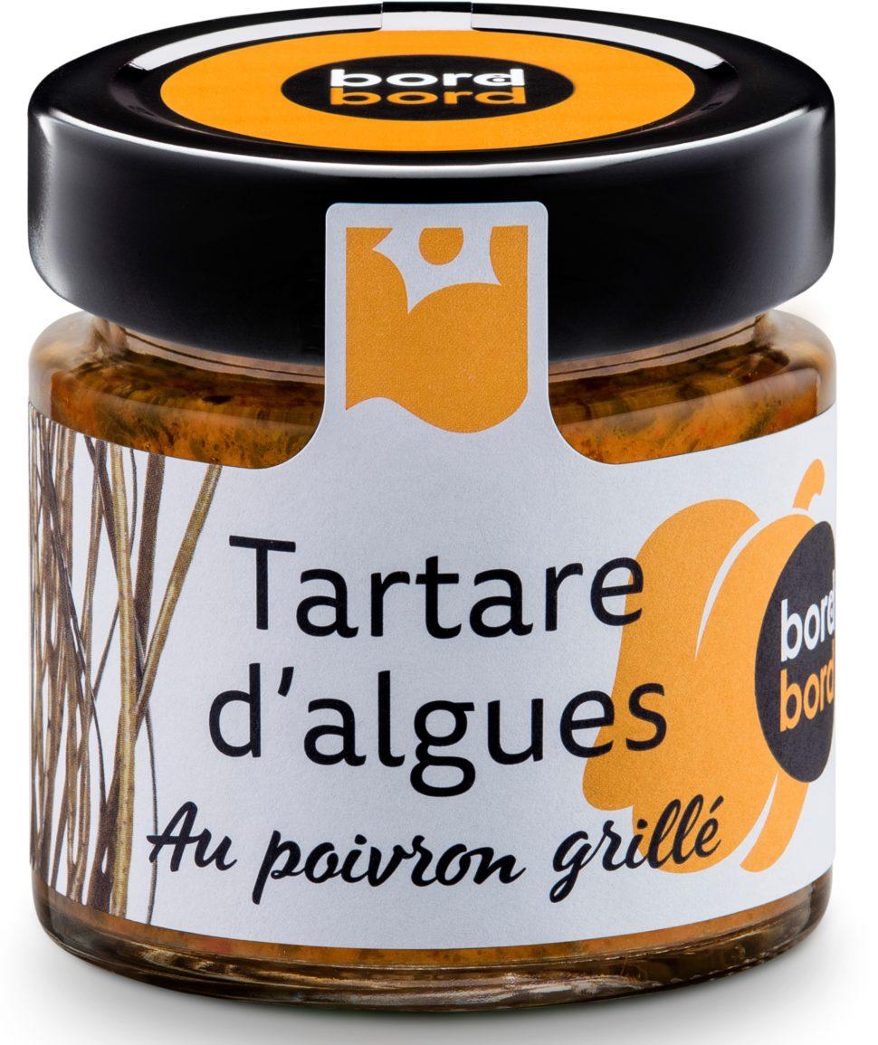 Le Tartare d'algues est un best seller de la gamme Bord à Bord qui depuis 1996 invente un avenir culinaire aux algues bretonnes