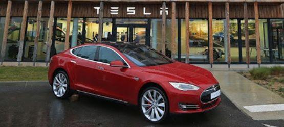 La Tesla Model S.