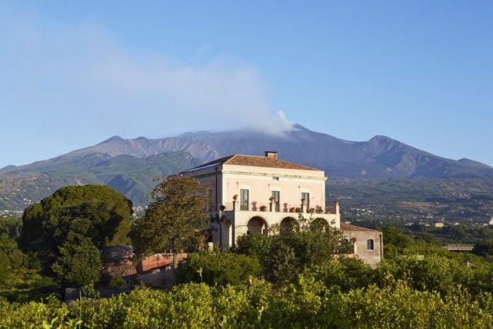 The Thinking Traveller Sicily. Villa Rocca delle Tre Contrade.
