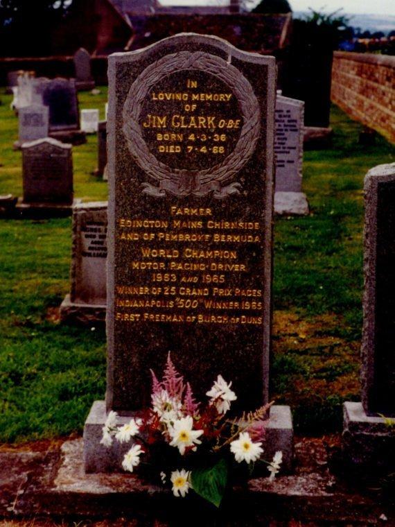 Tombe de Jim Clark