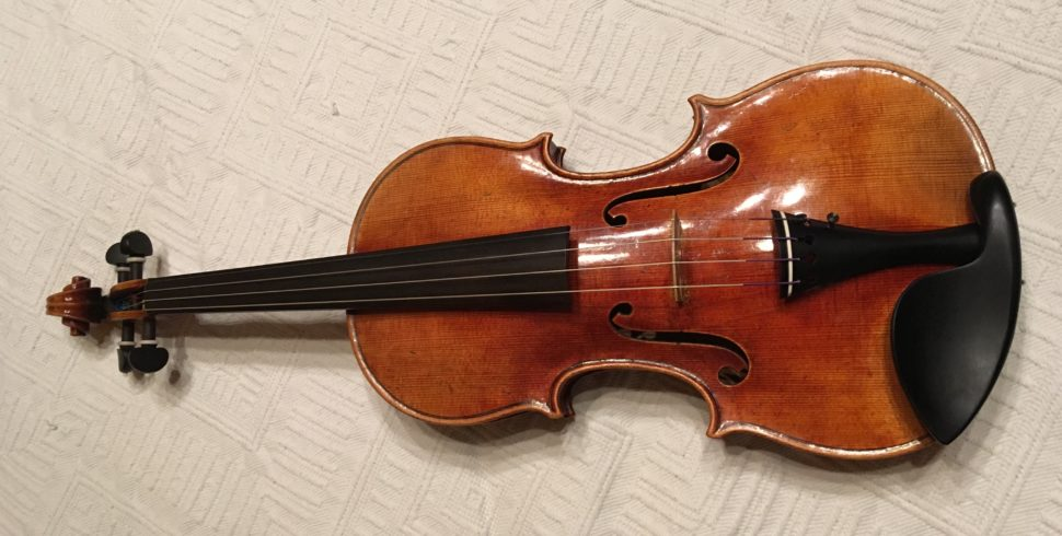 Ce violon a valu à David Léonard Wiedmer le prix 2018 (médaille d'or) de la « Violin Society of América »