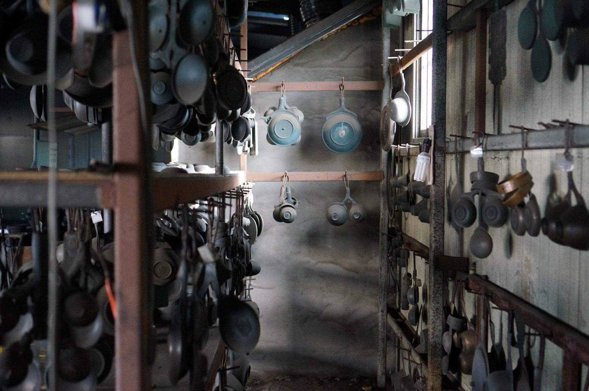 Modèles de Vaisselles Yugi dans l'atelier Geochang Yugi