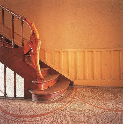 'escalier de la maison Autrique