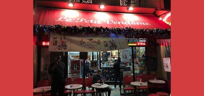 Le Petit Vendôme au 8, rue des Capucines (2e) vient de recevoir la Coupe du Meilleur Pot des Bistrots à vin parisiens 2019