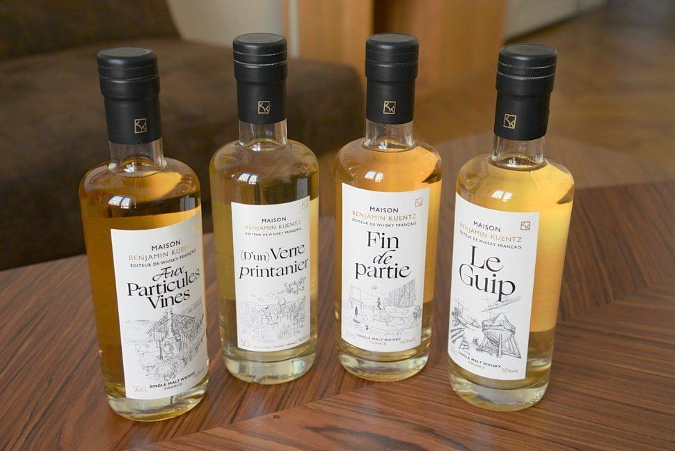 La gamme des whiskys