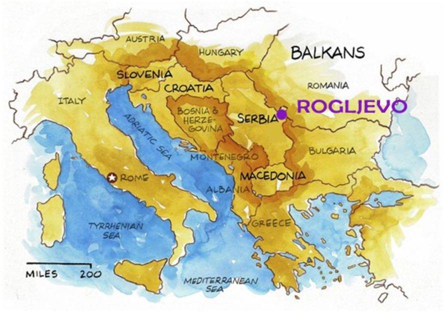 Roglievo (Serbie)