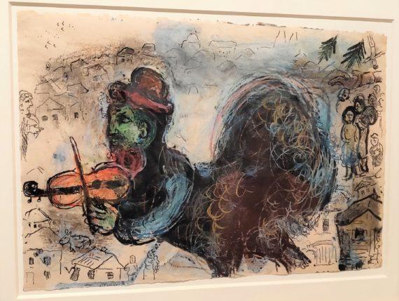 Chagall Le coq violoniste.