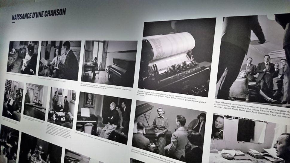 En 1953, Doisneau réalise un roman photo sur 'la naissance d'une chanson' qui réunit Montand, Aznavour, Bourvil…