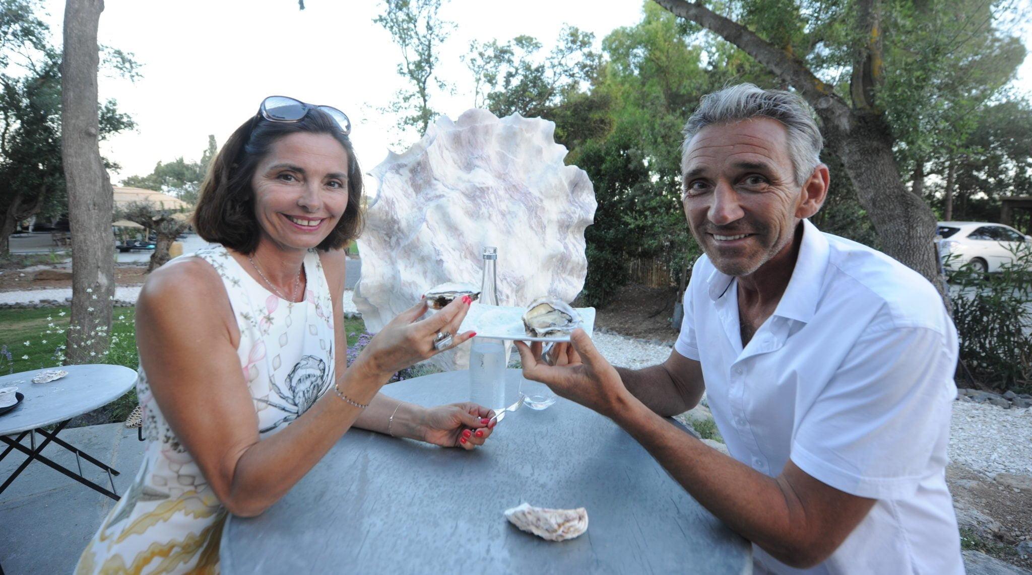 Florent Tarbouriech avec sa femme