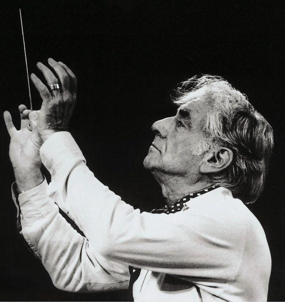 Léonard Bernstein en 1998