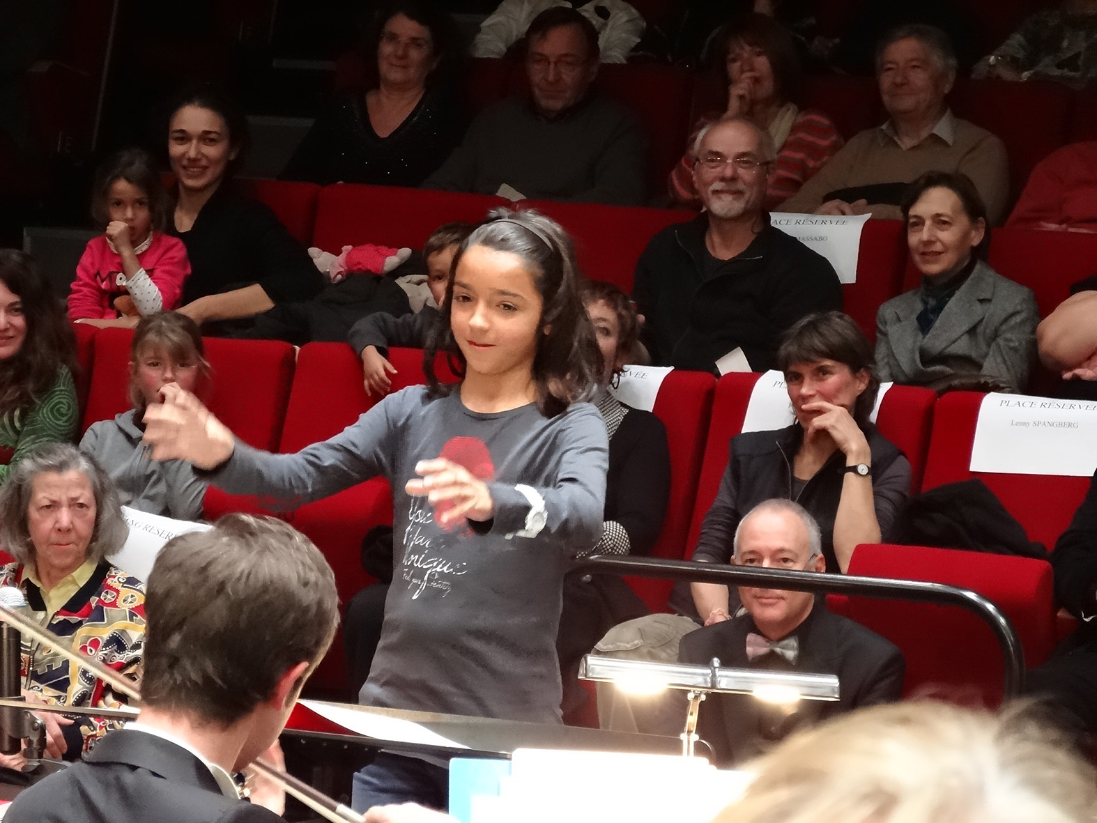 Le passage de baguette fait partie des ateliers d'Orchestres en fêtes