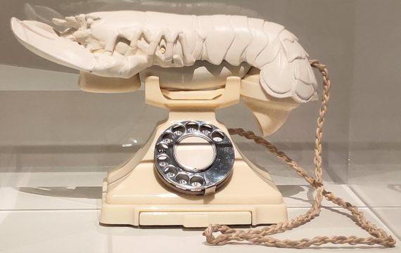 Salvador Dali. Aphrodisiac Telephone (1938)