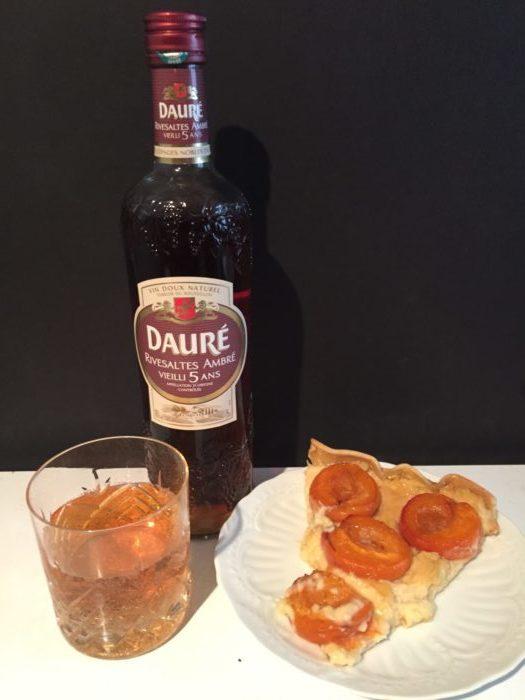 Tarte abricots et crème pâtissière