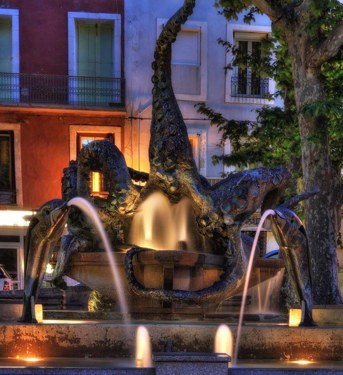 La statue du poulpe